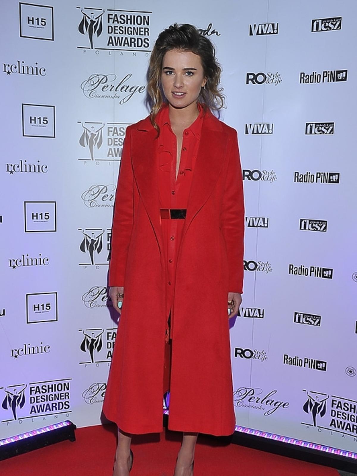 Maffashion (Julia Kuczyńska) na finale Fashion Desinger Awards 2013