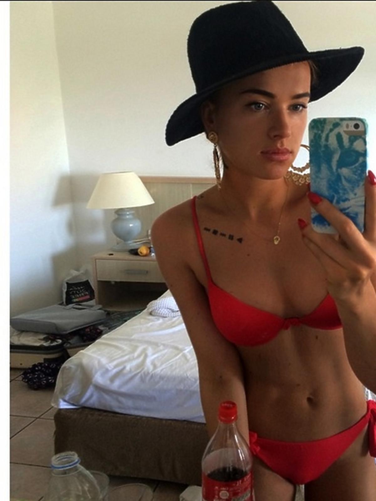 Maffashion w bikini na Instagramie