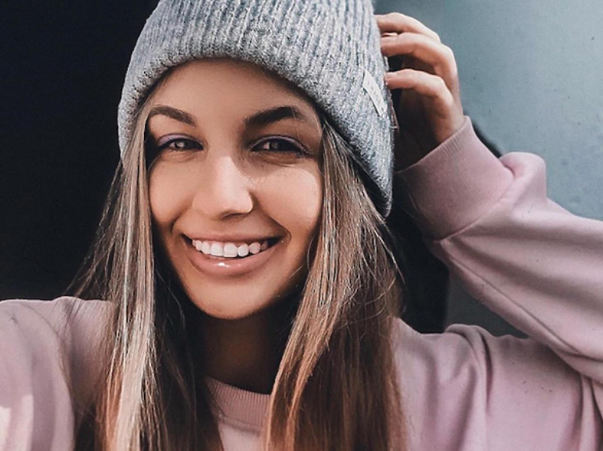 Magda Bereda w czapce