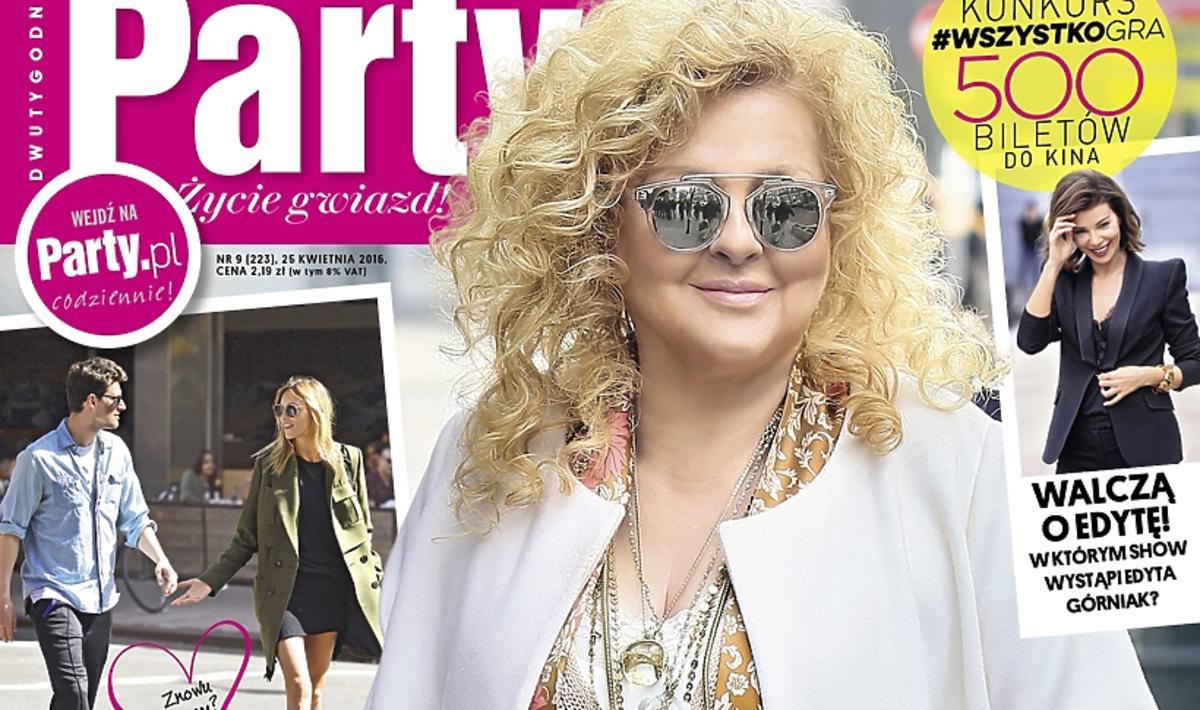 Magda Gessler na okładce magazynu Party