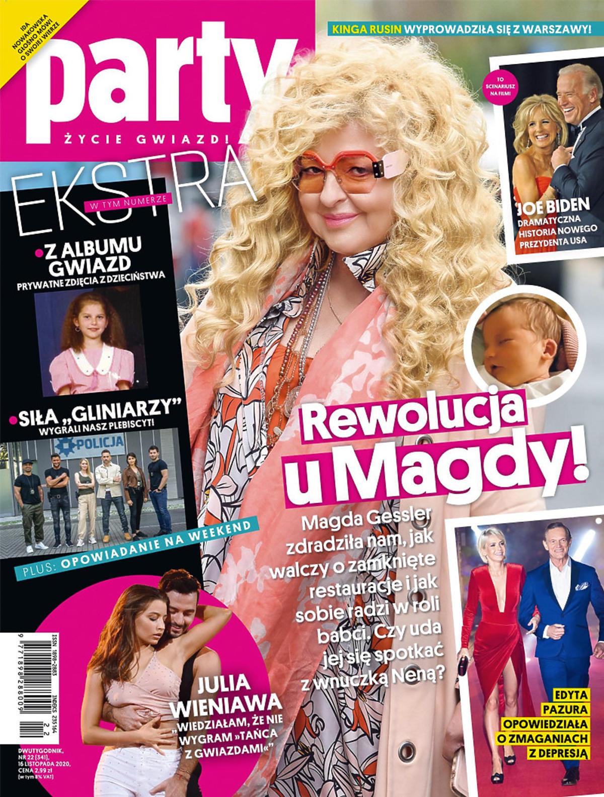 Magda Gessler na okładce Party
