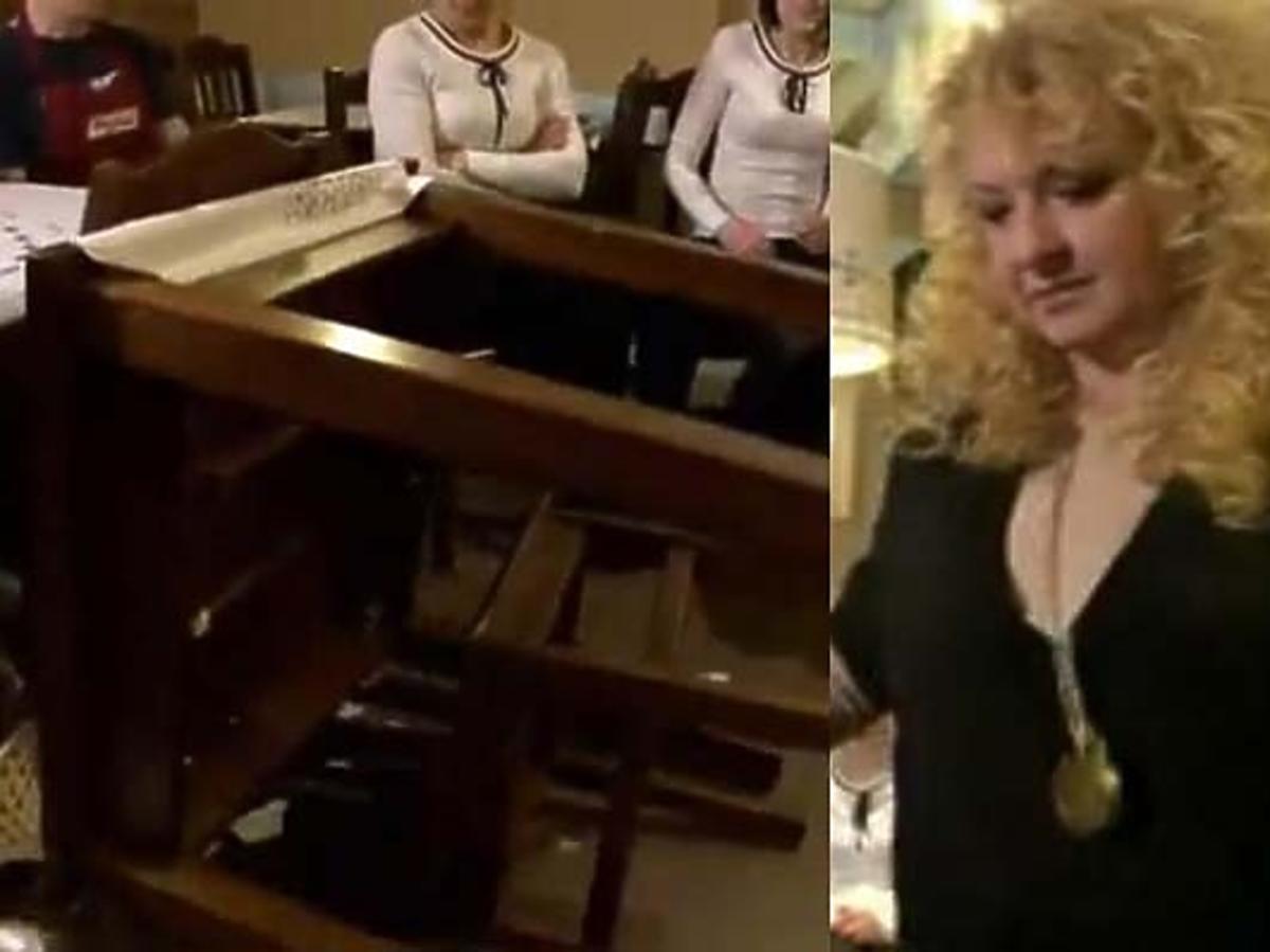 Magda Gessler w furii