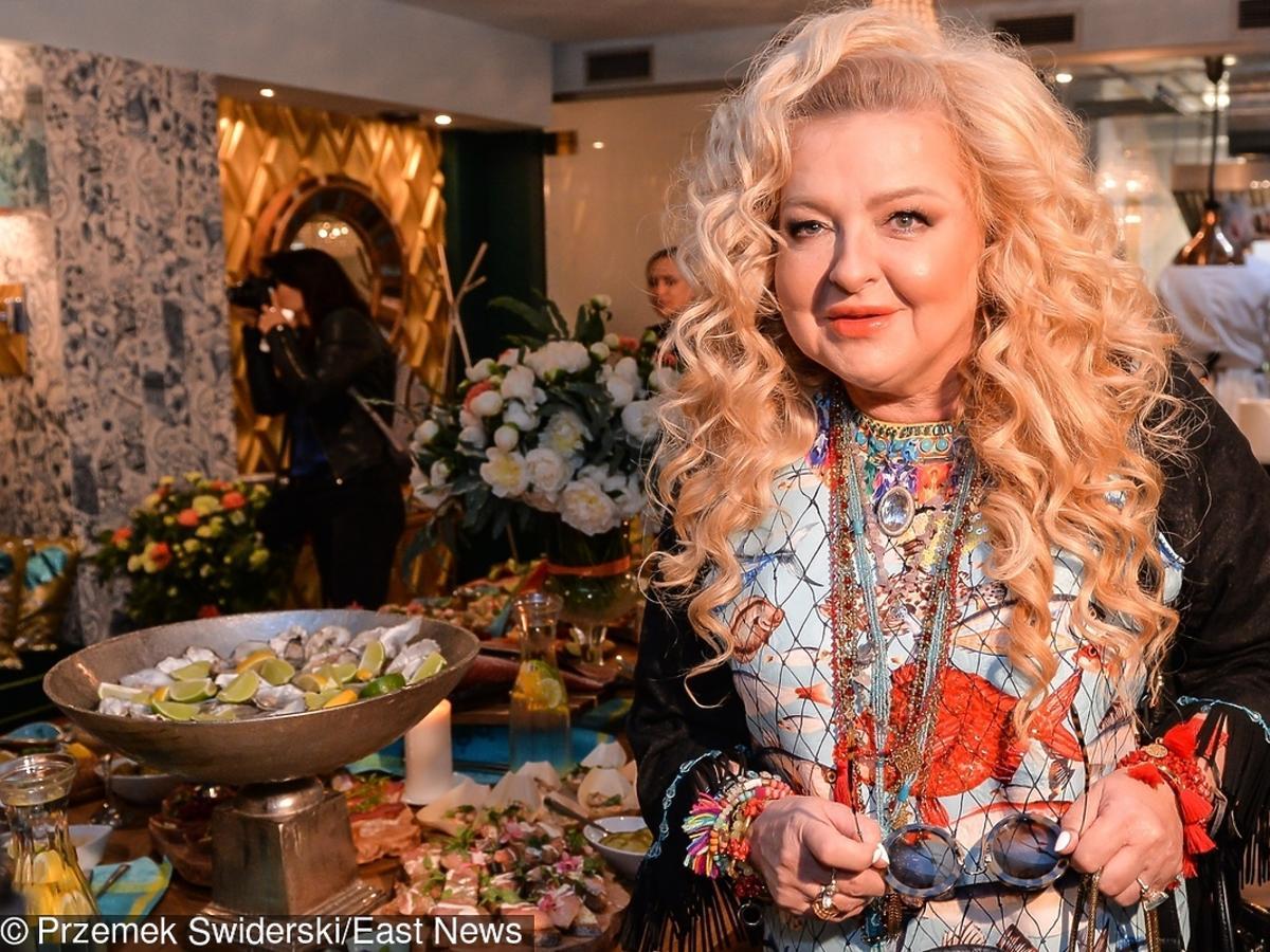 Magda Gessler w swojej restauracji