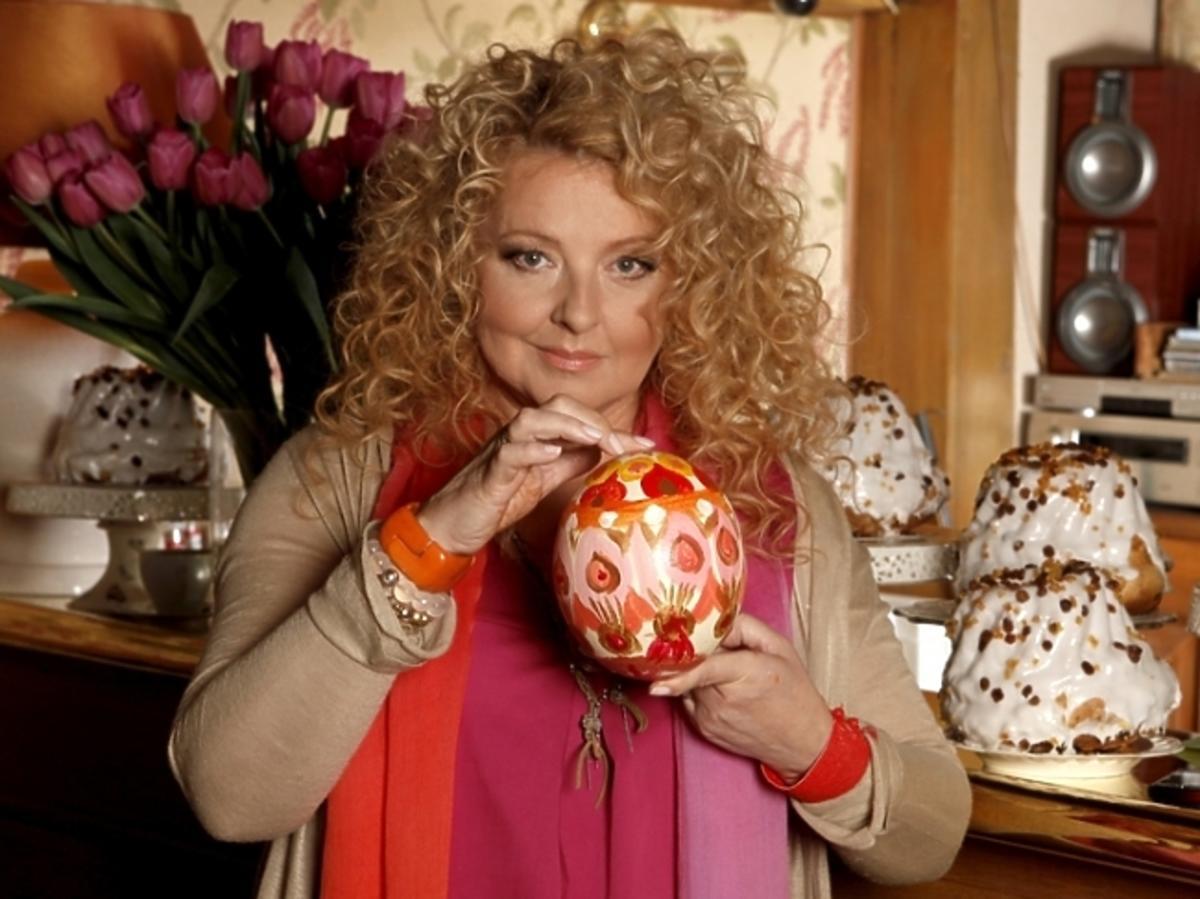 Magda Gessler w Wielkanocnej sesji