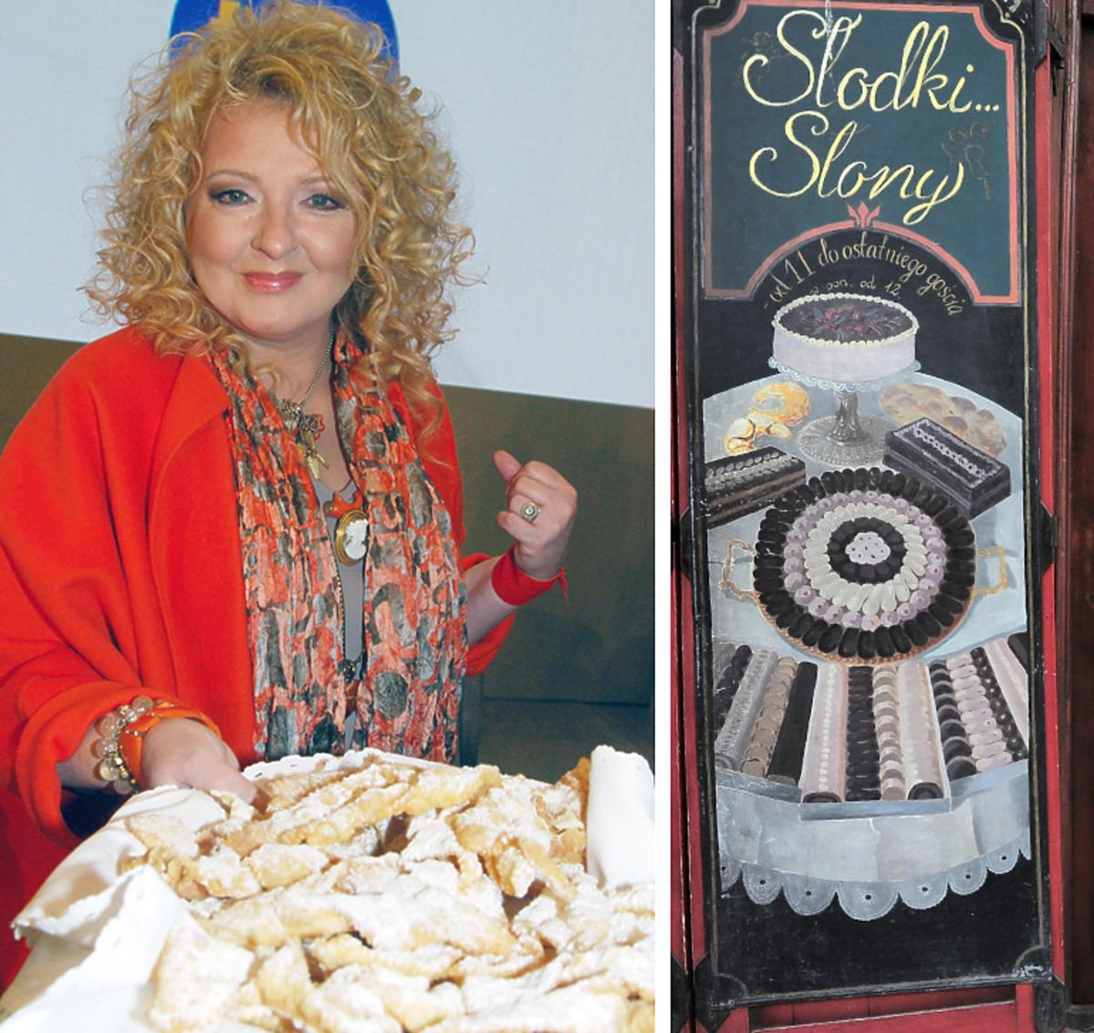Magda Gessler z faworkami, Słodki Słony