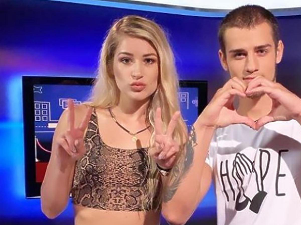 Magda i Oleh z Big Brothera razem na zdjęciu