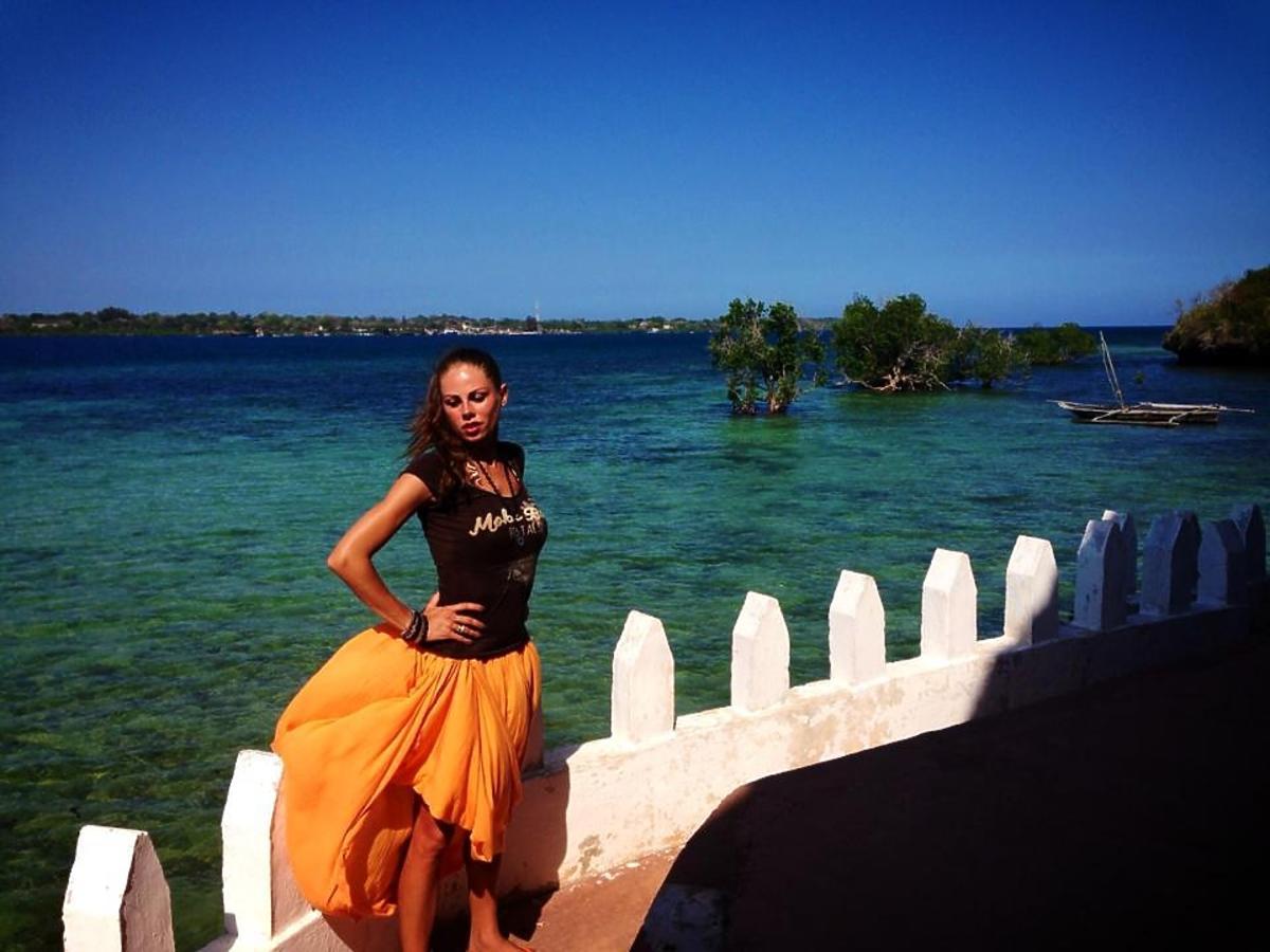 Magda Modra na wakacjach w Kenii
