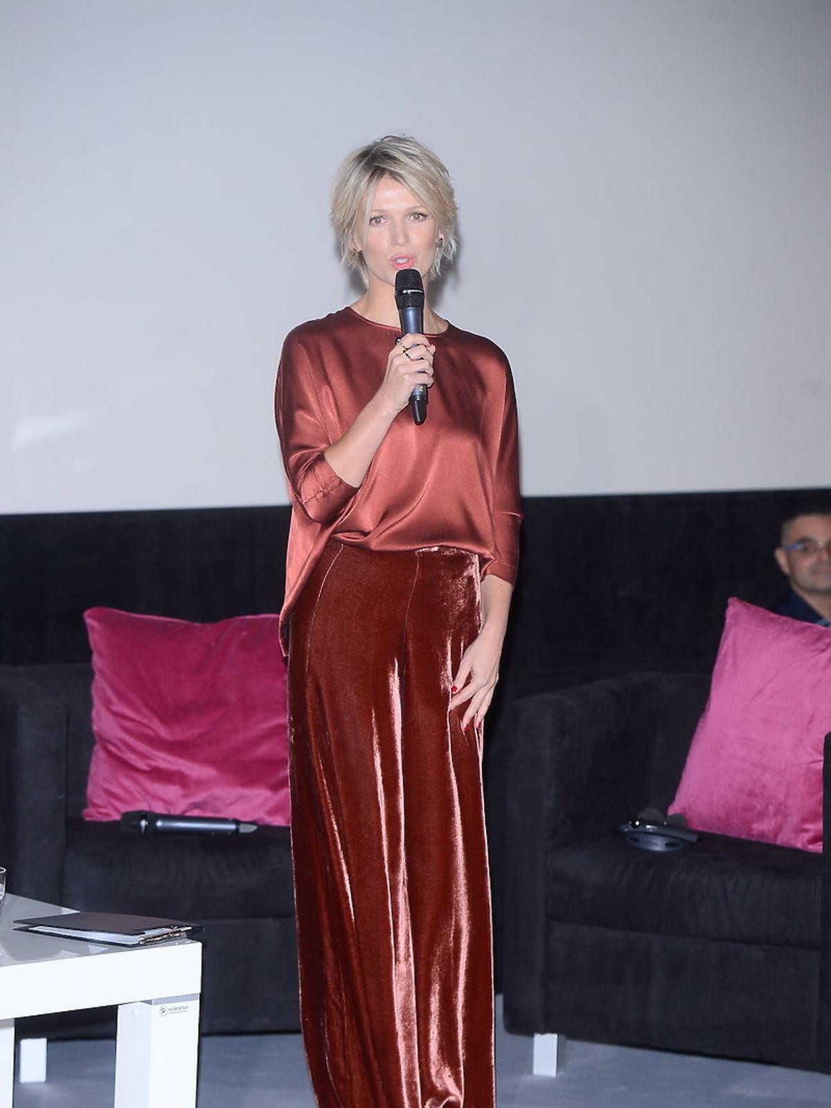 Magda Mołek na spotkaniu z Evą Longorią