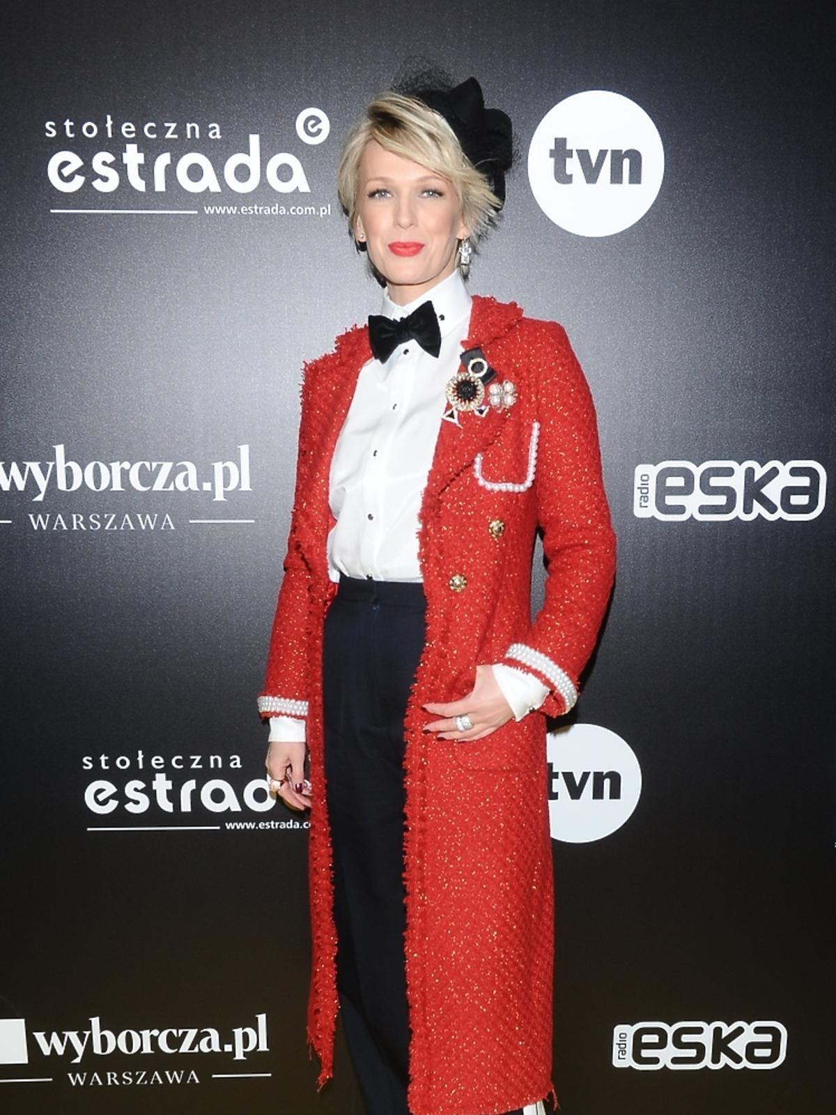 Magda Mołek na Sylwestrze TVN 2016/2017
