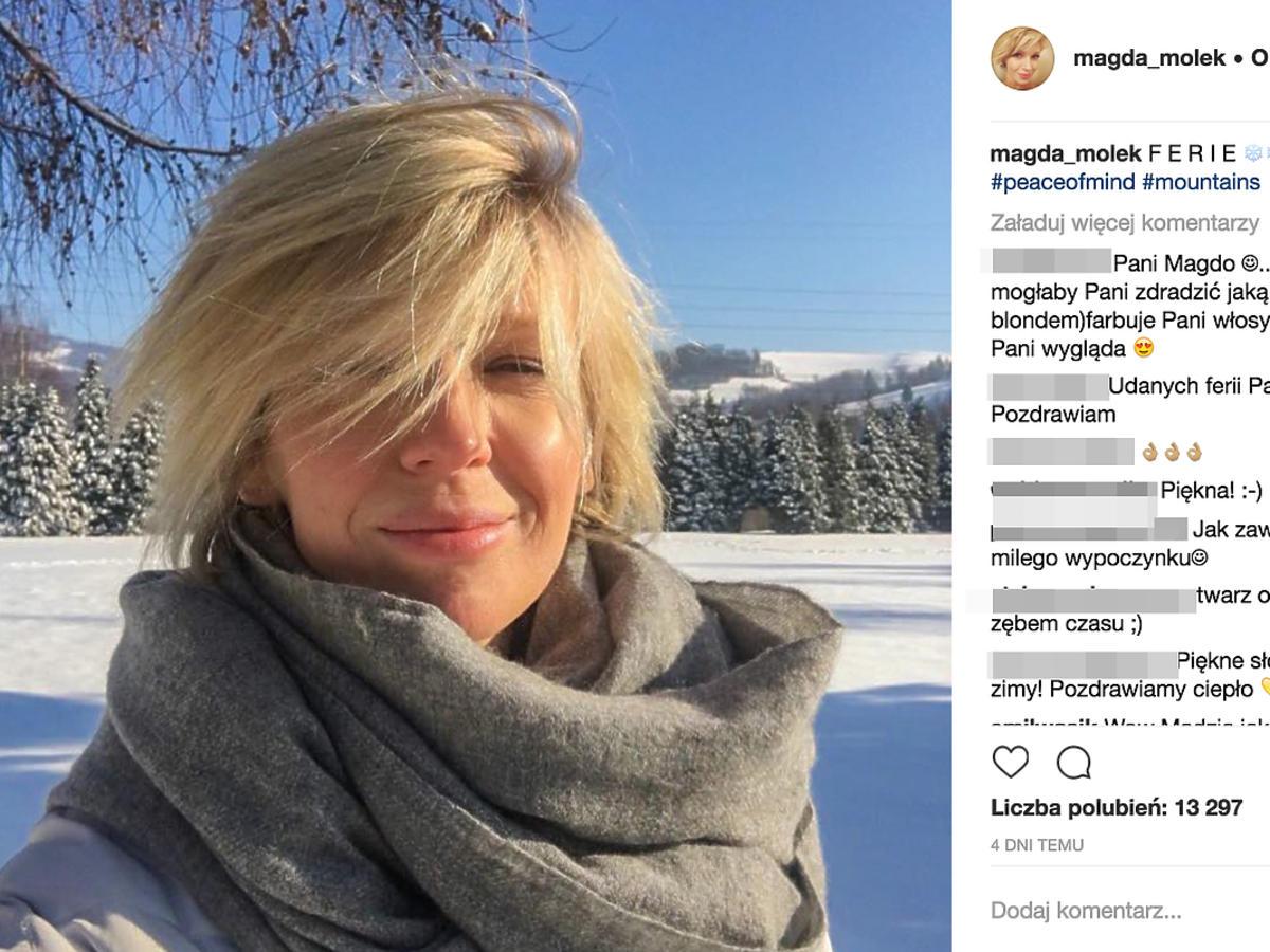 Magda Mołek w ciąży