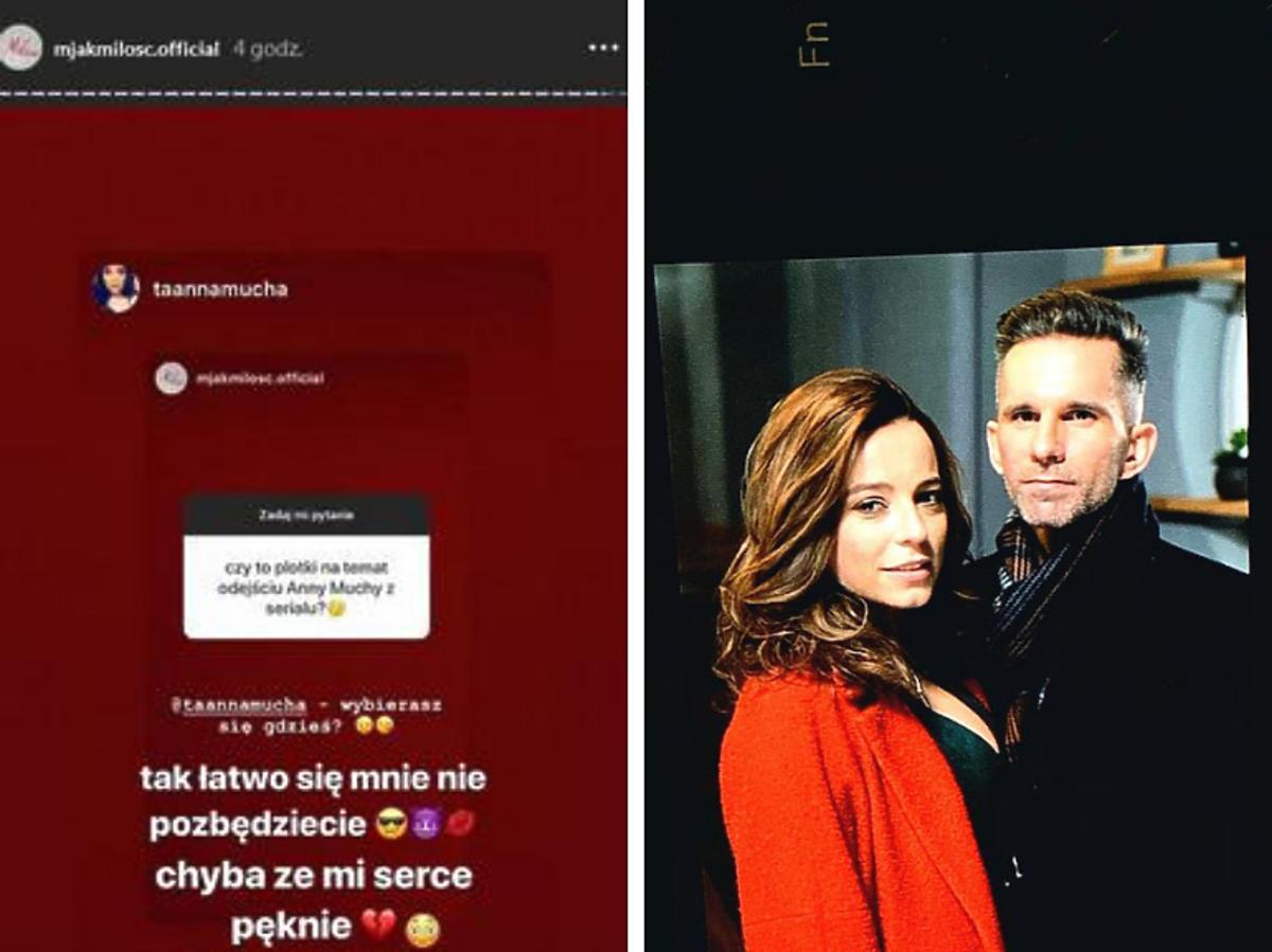 Magda odejdzie z M jak miłość