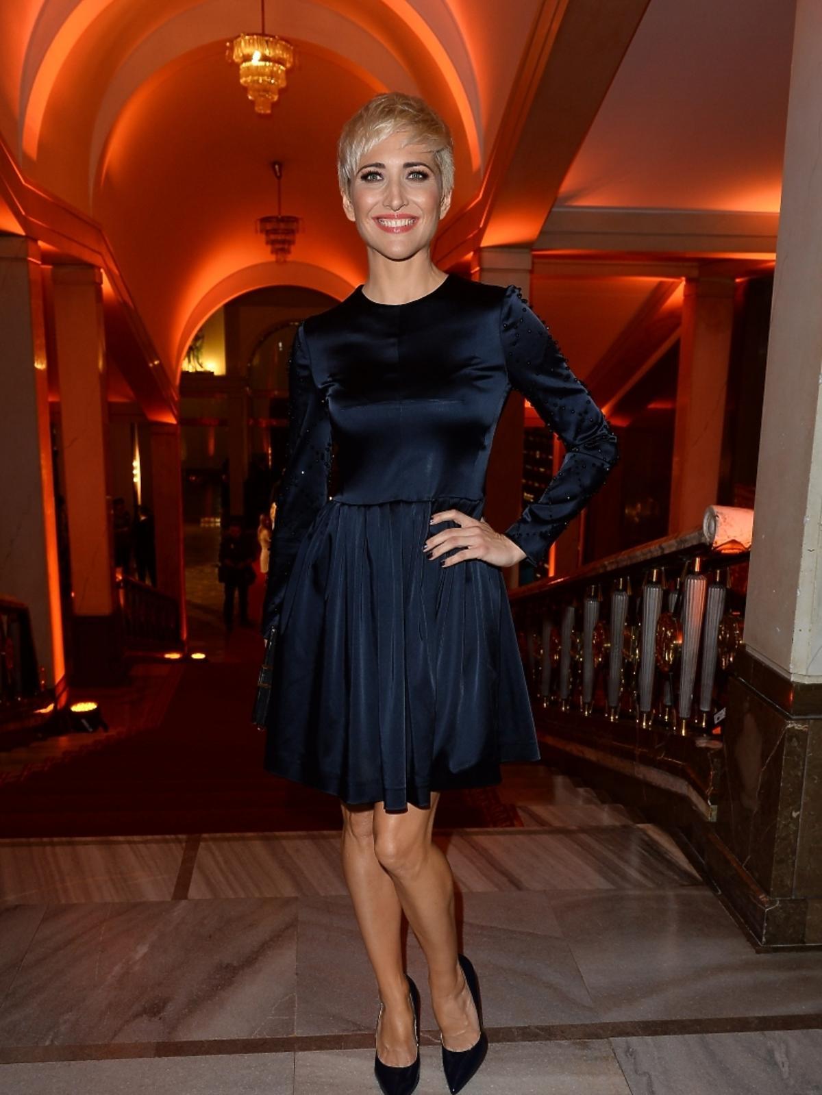 Magda Steczkowska na imprezie Flesz Fashion Night