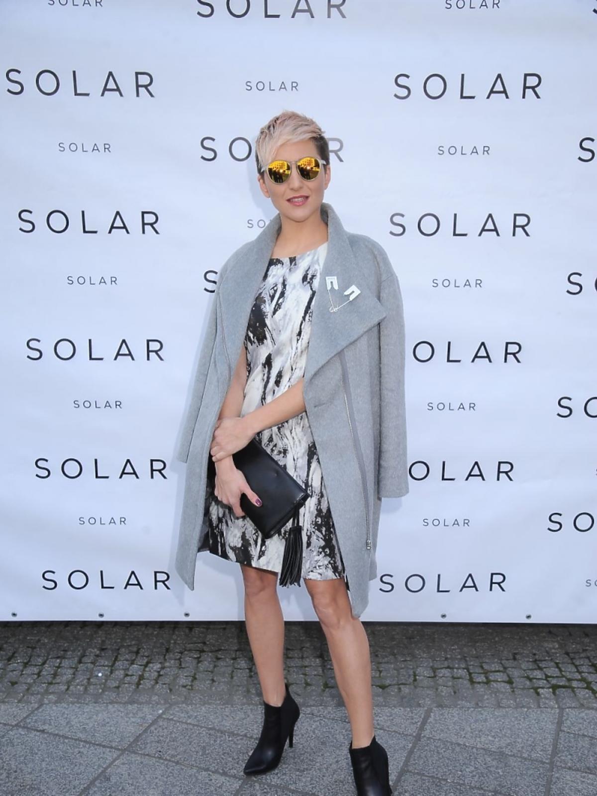 Magda Steczkowska na prezentacji marki Solar