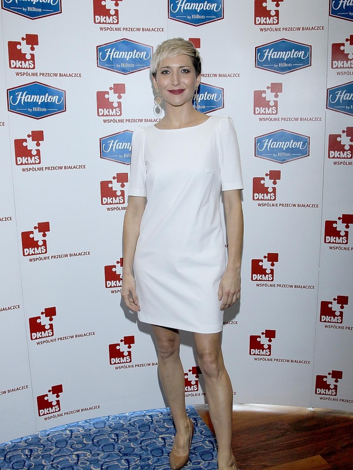 Magda Steczkowska przeciwko białaczce