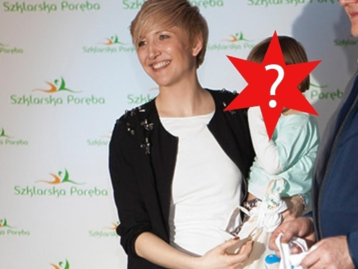 Magda Steczkowska z córką. Córka Magdy Steczkowskiej