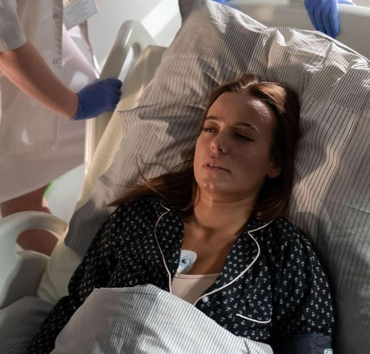 Magda w szpitalu w M jak miłość