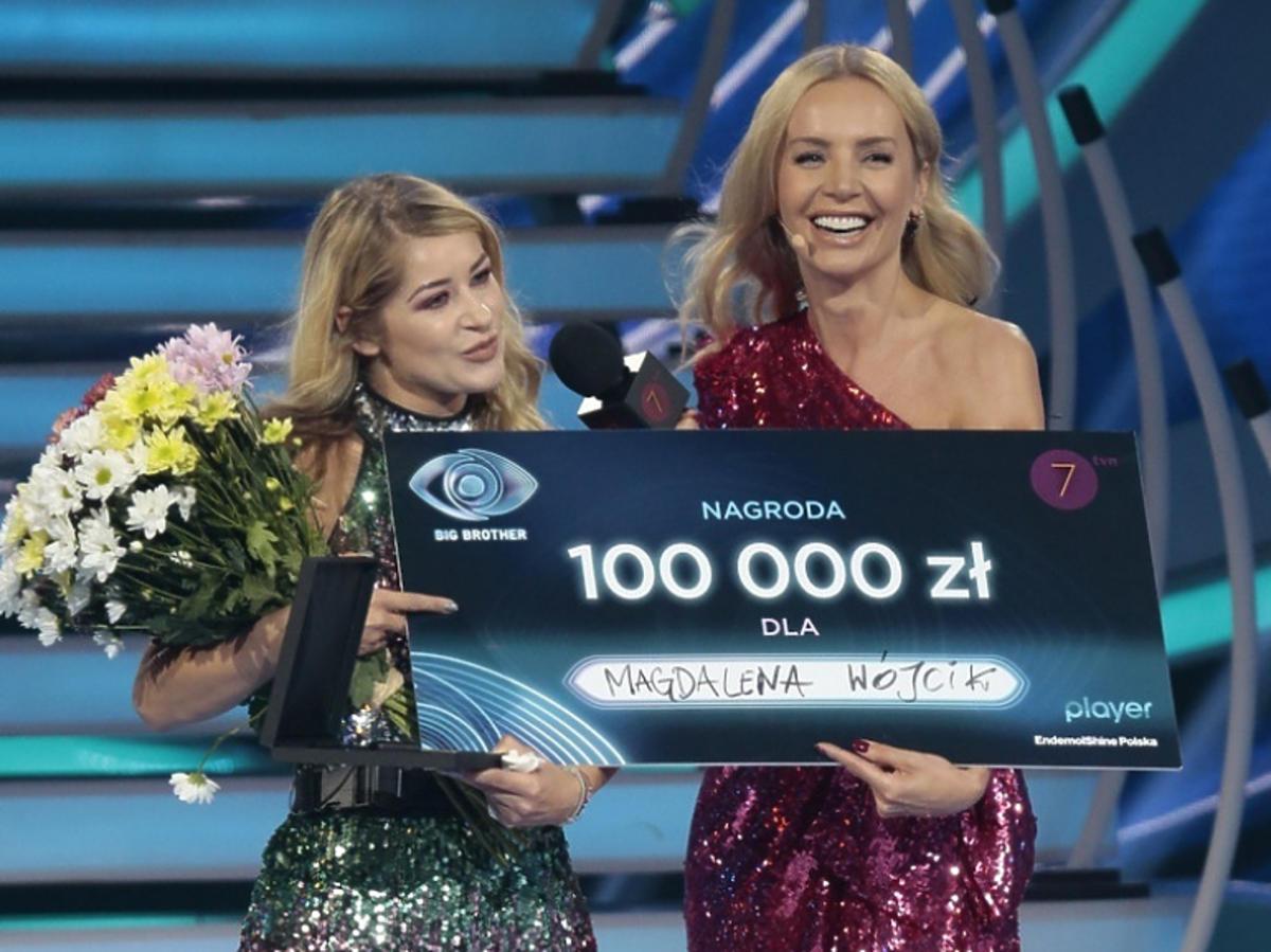 Magda Wójcik w finale Big Brothera