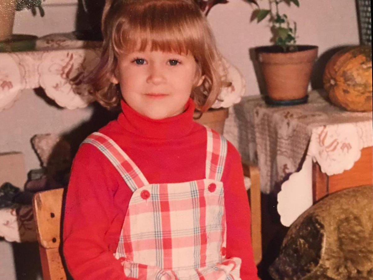 Magda Wójcik w młodości