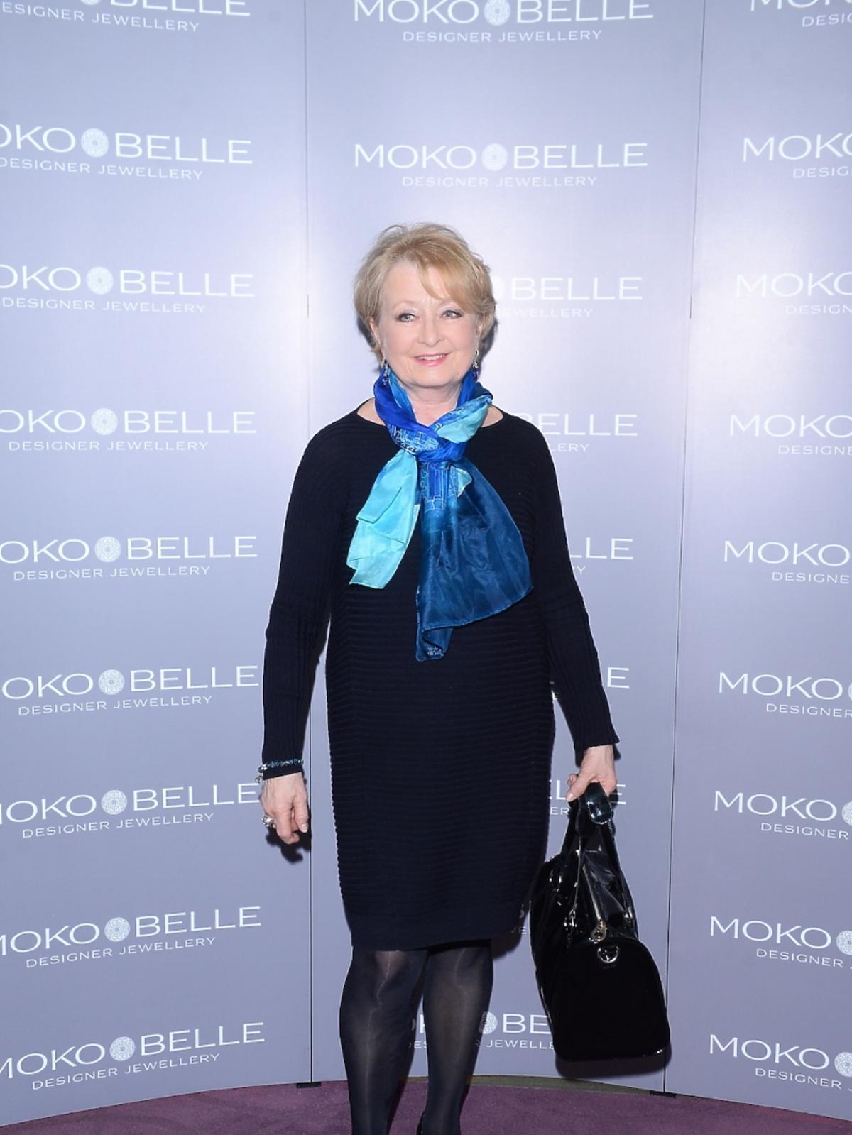Magda Zawadzka na otwarciu butiku Mokobelle