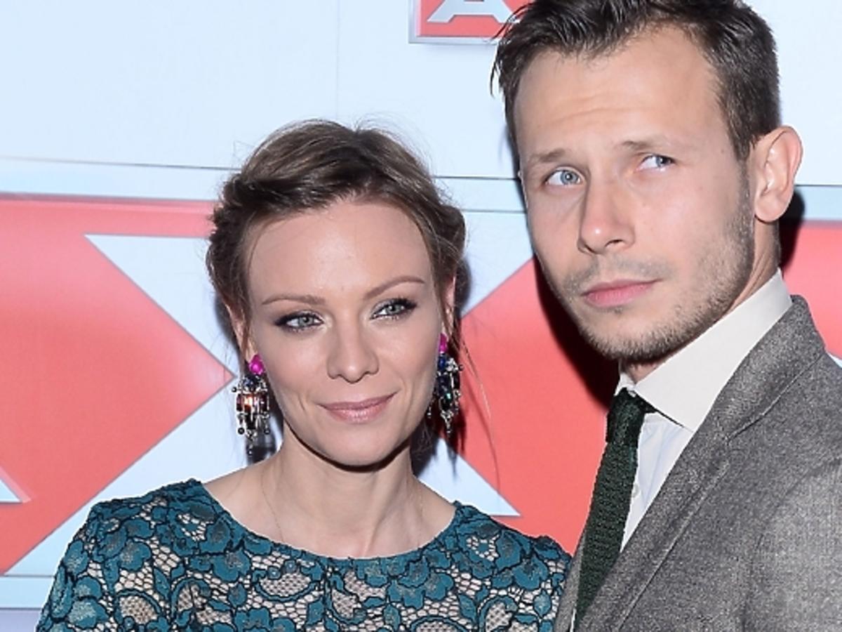 Magdalena Boczarska i Mateusz Banasiuk na premierze serialu Zbrodnia