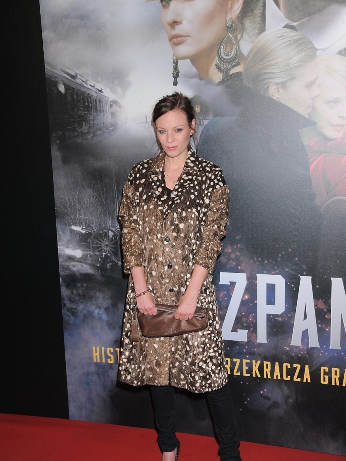Magdalena Boczarska na premierze filmu