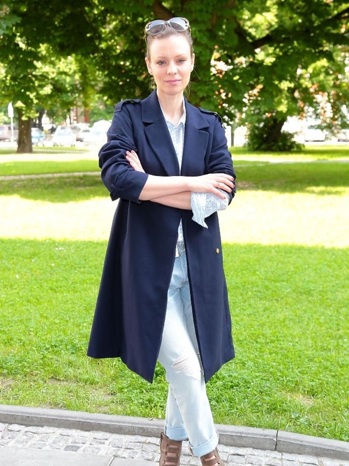 Magdalena Boczarska  na premierze książki Bożeny Jarnot