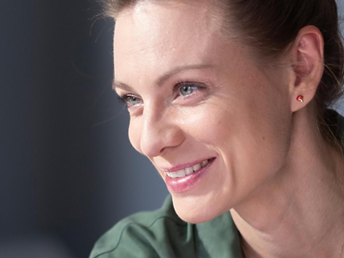 Magdalena Boczarska o serialu Pod powierzchnią