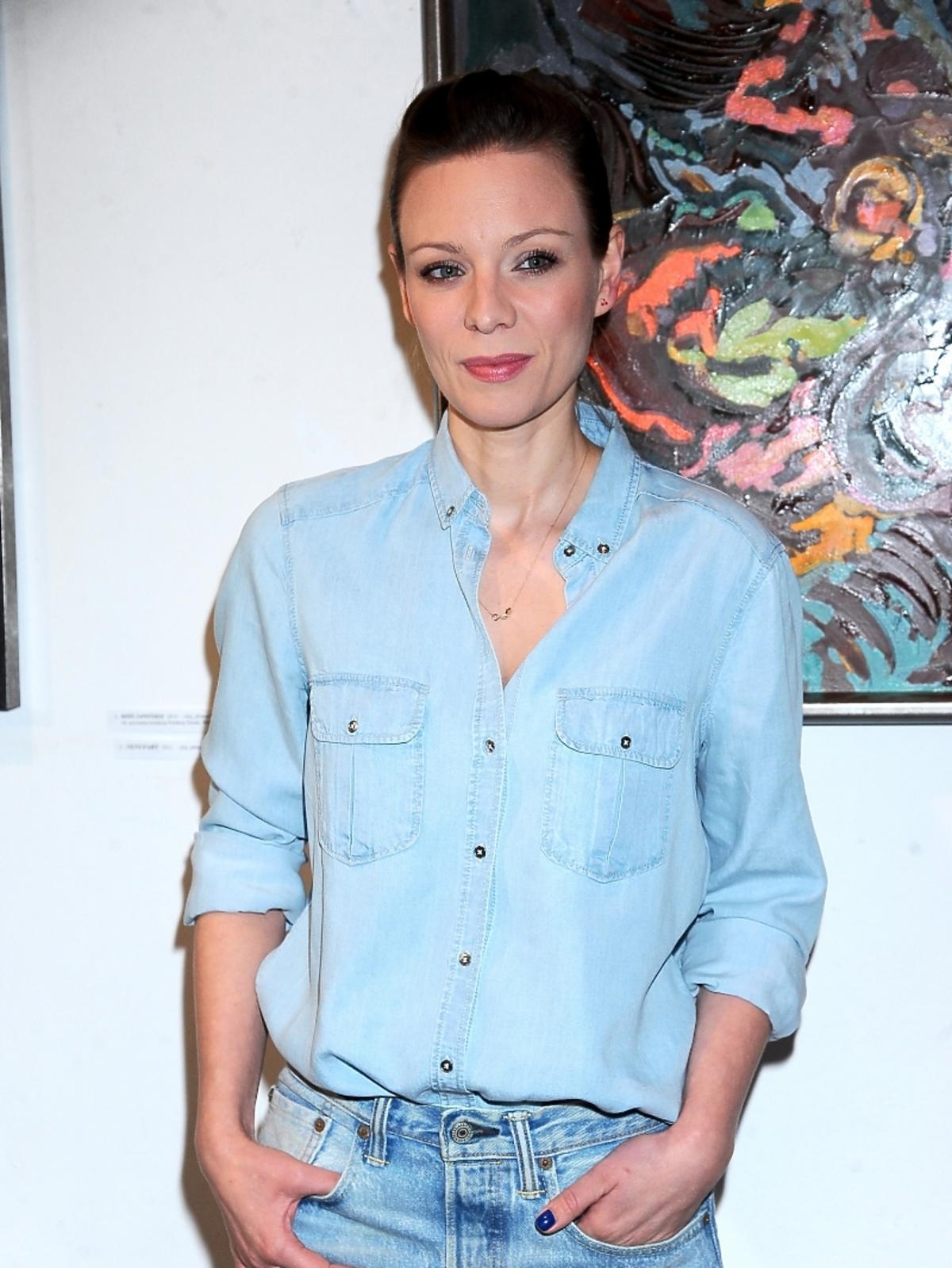 Magdalena Boczarska w dżinsie