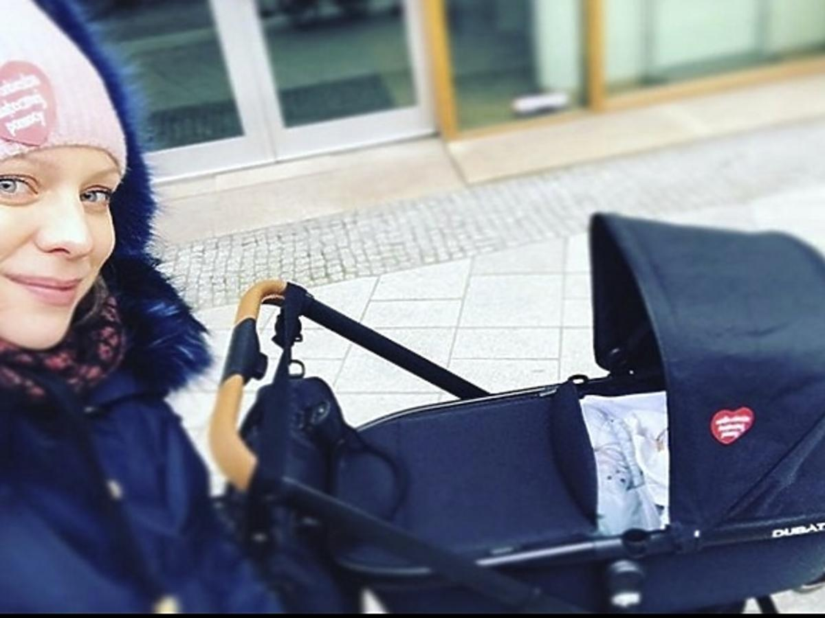 Magdalena Boczarska wózek