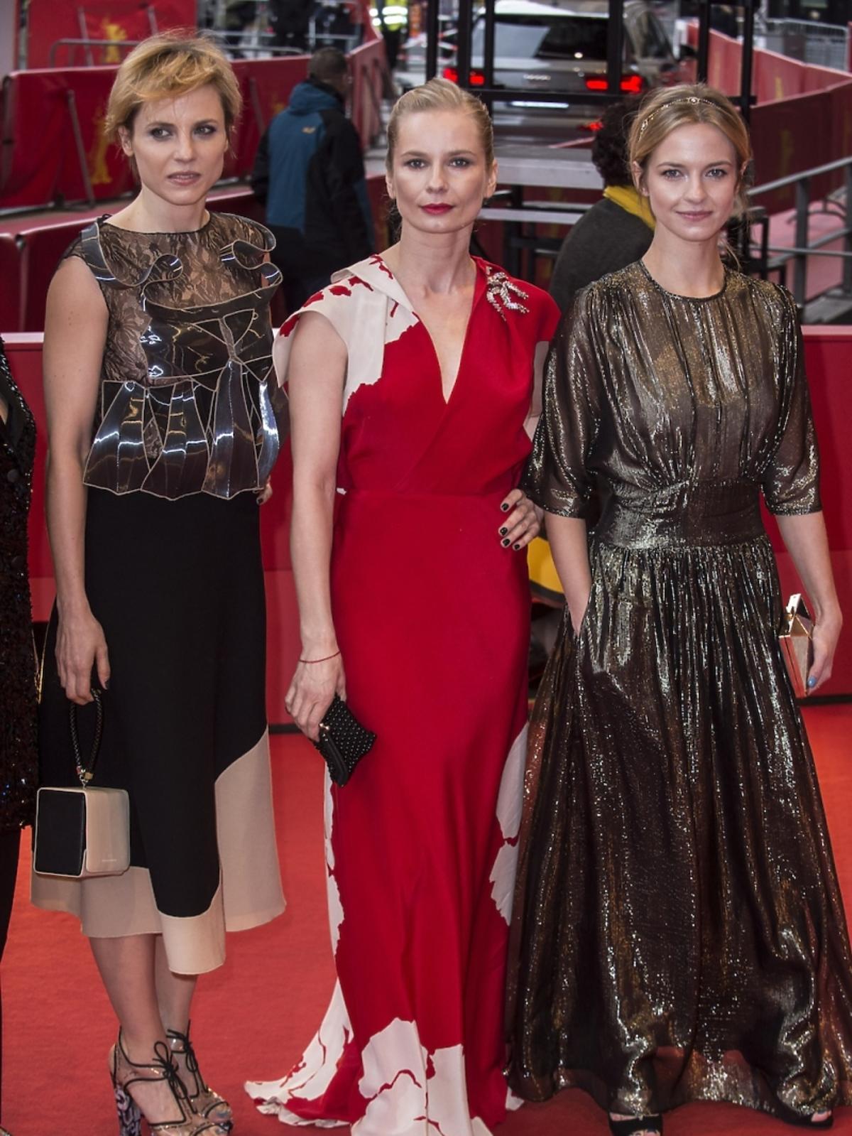Magdalena Cielcka, Marta Nieradkiewicz, Julia Kijowska w Berlinie