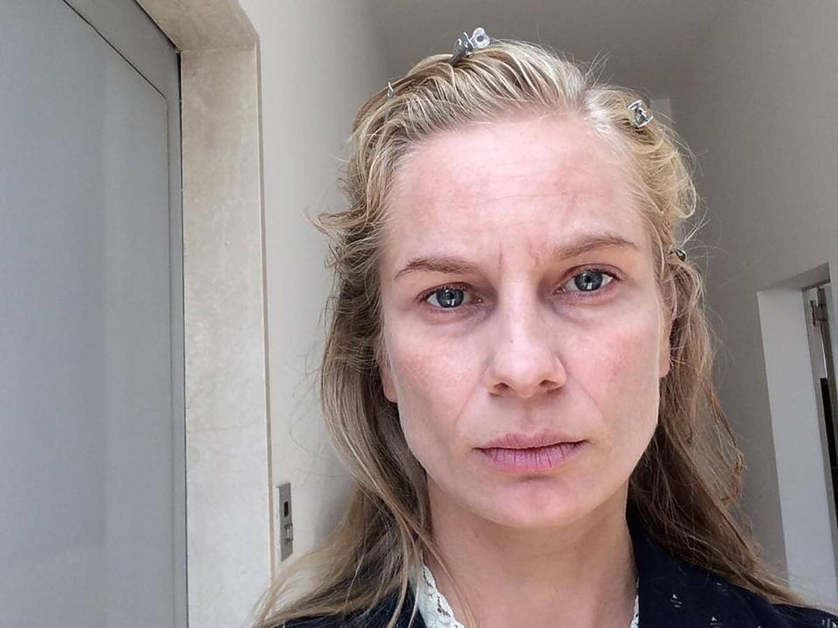 Magdalena Cielecka bez makijażu