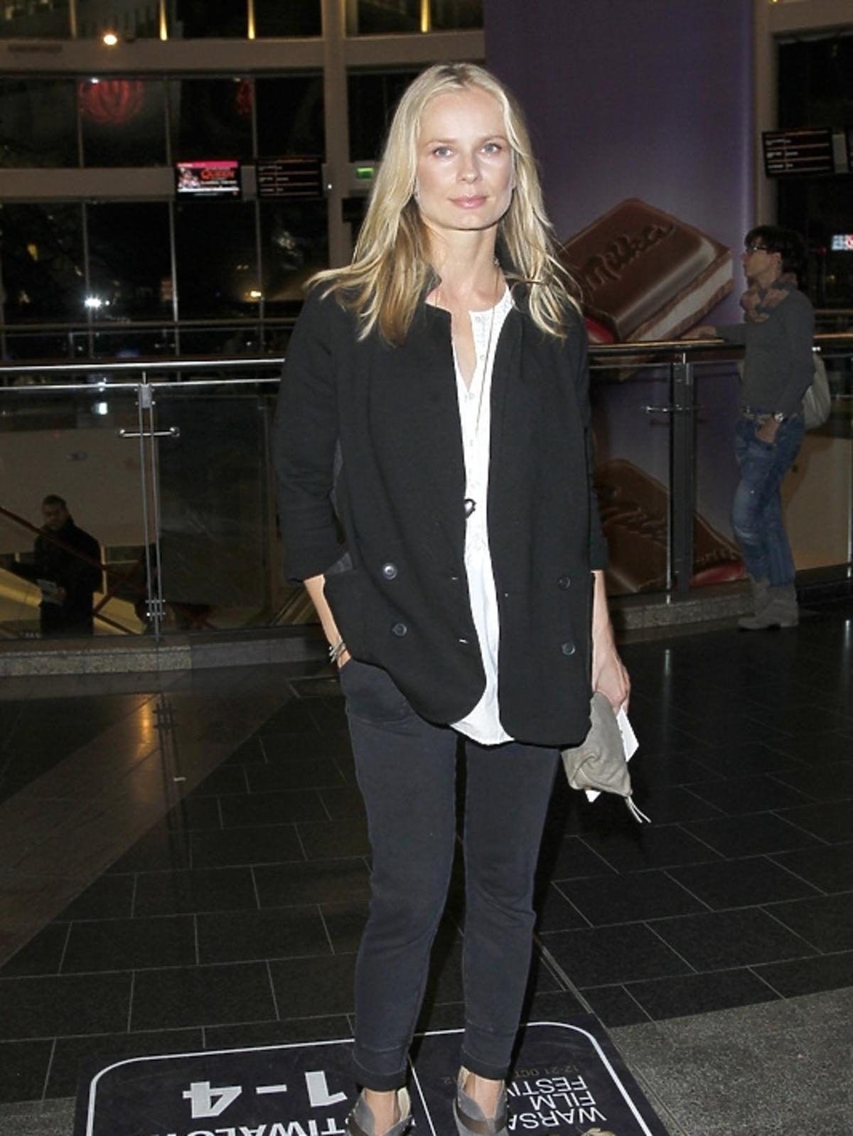 Magdalena Cielecka na otwarciu Warszawskiego Festiwalu Filmowego