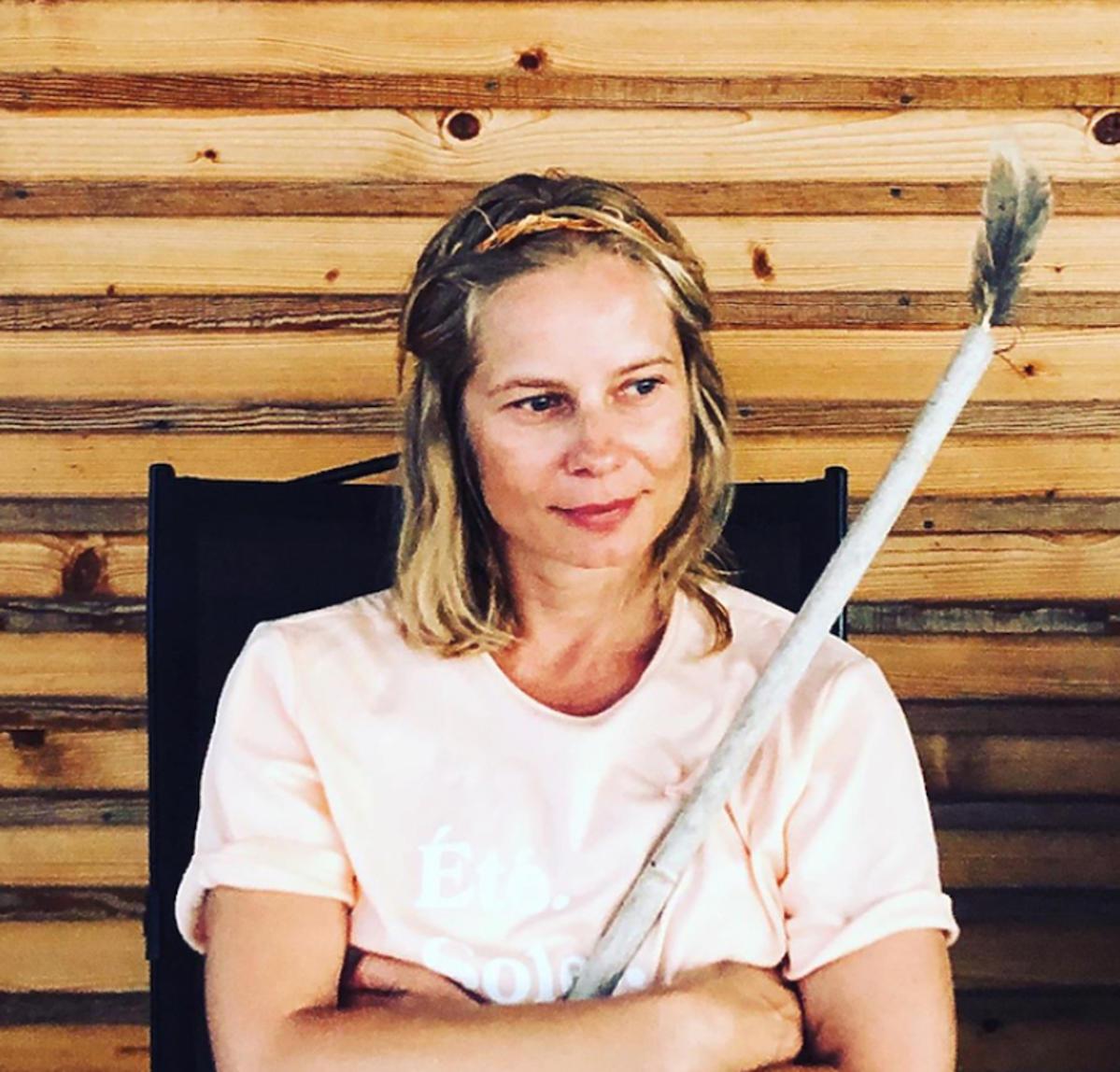 Magdalena Cielecka na wakacjach z piórem