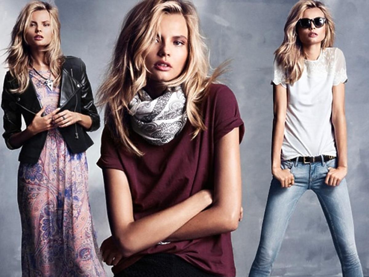 Magdalena Frąckowiak w lookbooku H&M wiosna-lato 2013