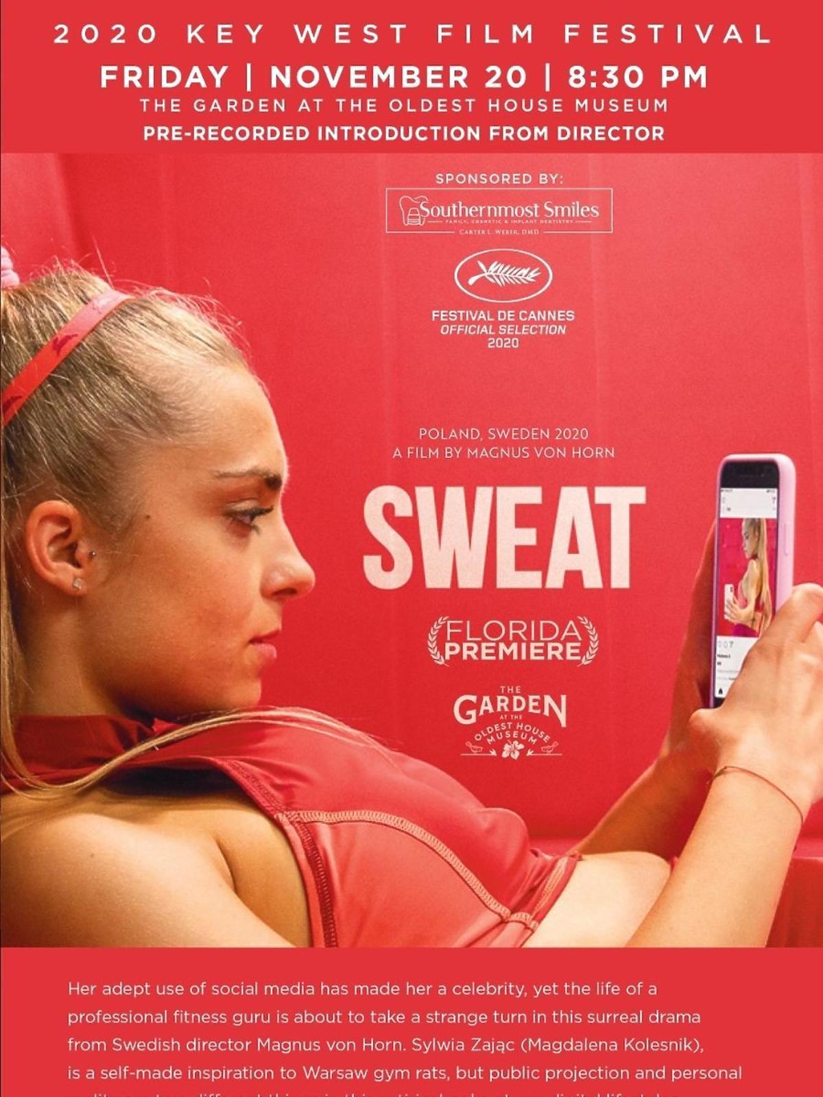 Magdalena Koleśnik o intymnych scenach z bratem w filmie Sweat