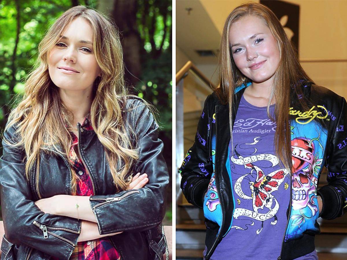 Magdalena Lamparska na planie 39 i pół - jak się zmieniła