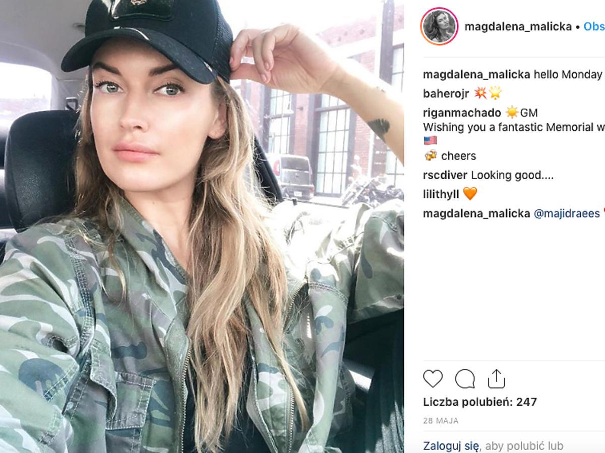 Magdalena Malicka - kim jest nowa dziewczyna Tomasza Karolaka