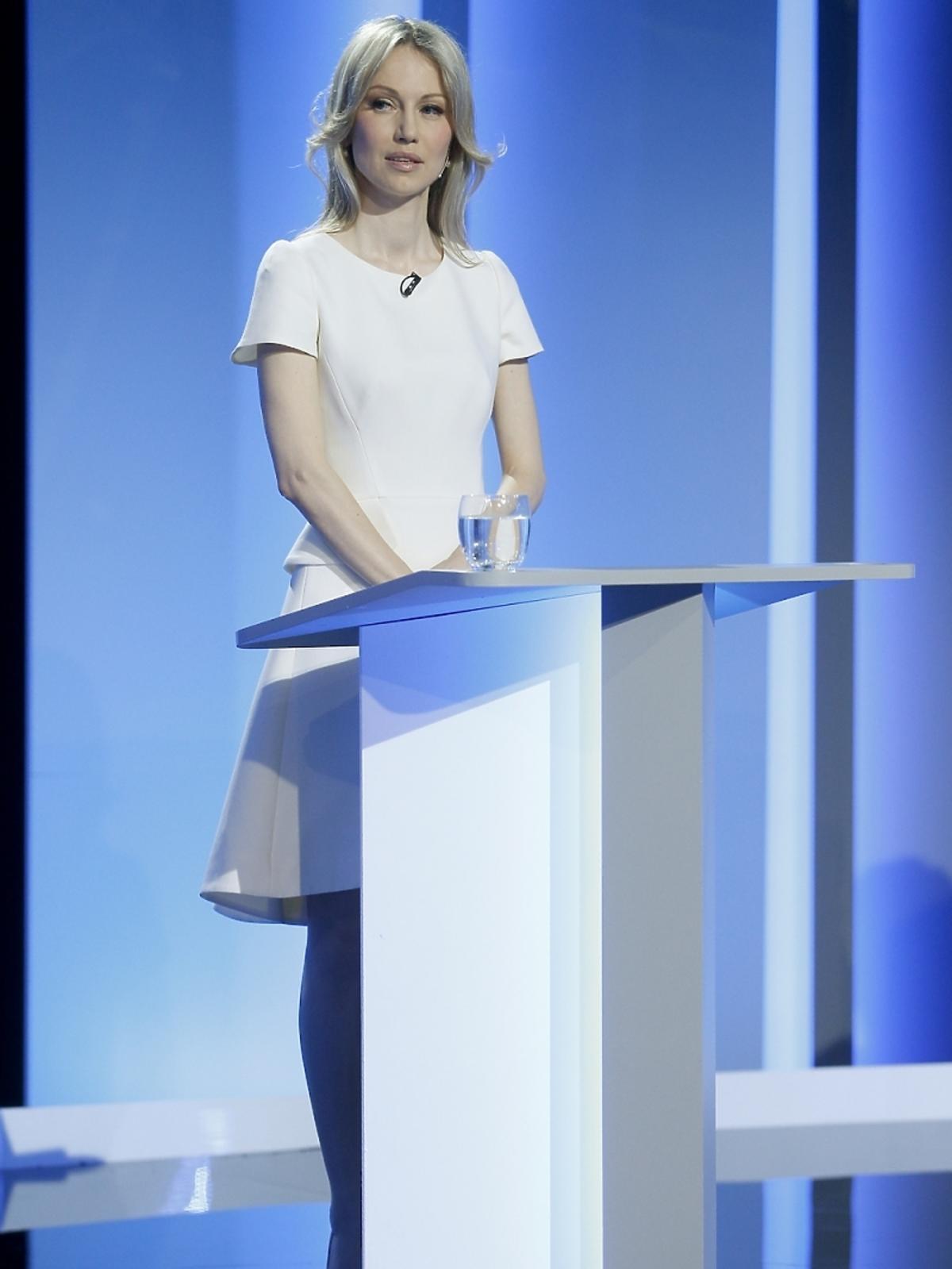 Magdalena Ogórek na debacie prezydenckiej