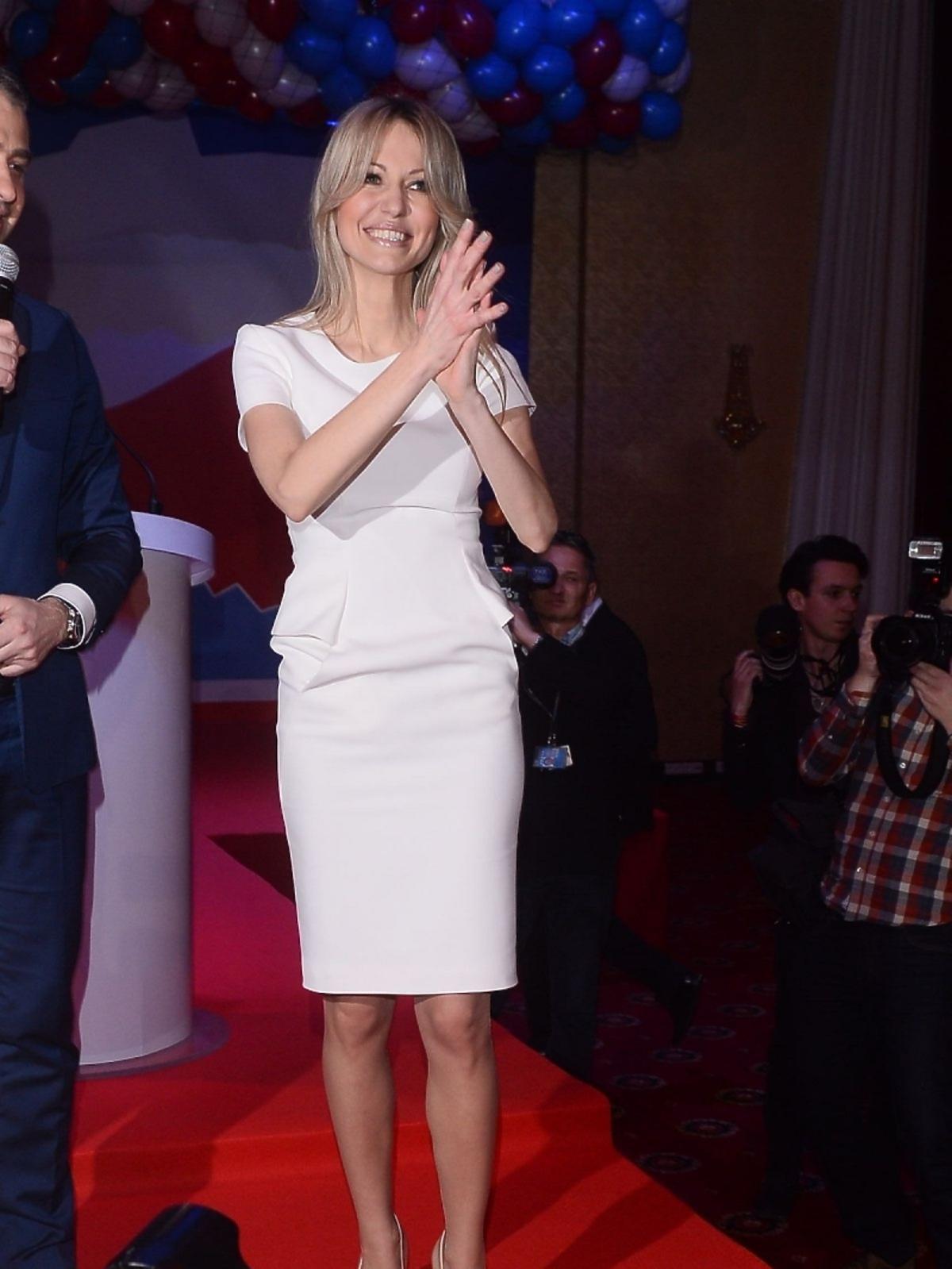 Magdalena Ogórek na wystąpieniu inaugurującym kampanię wyborczą