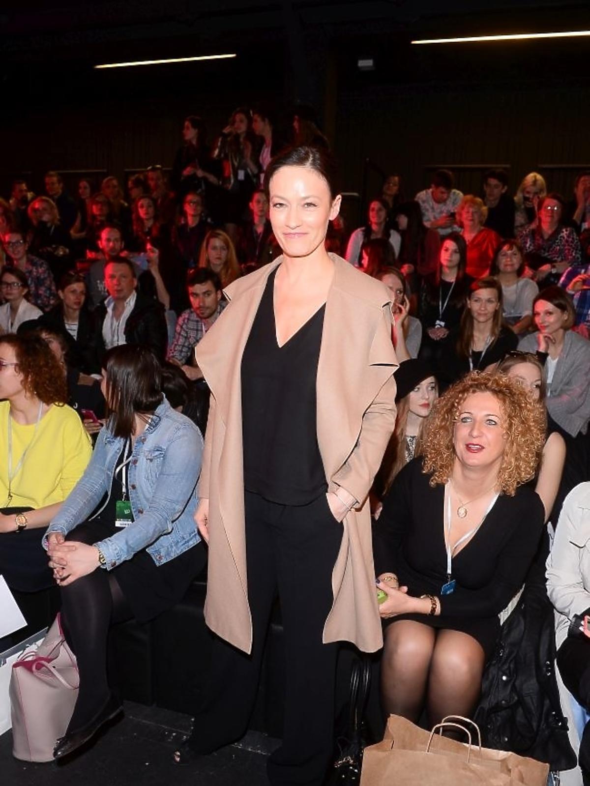 Magdalena Różczka na Fashion Week w Łodzi