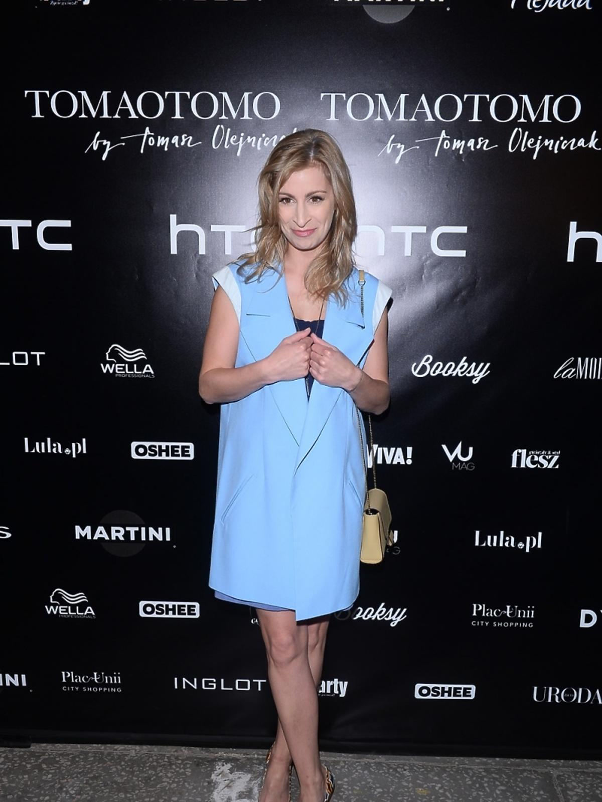 Magdalena Schejba na pokazie Tomaotomo