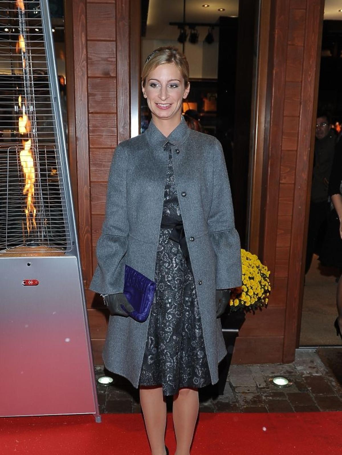 Magdalena Schejbal na otwrciu butiku Caroliny Herrery w Zakopanem