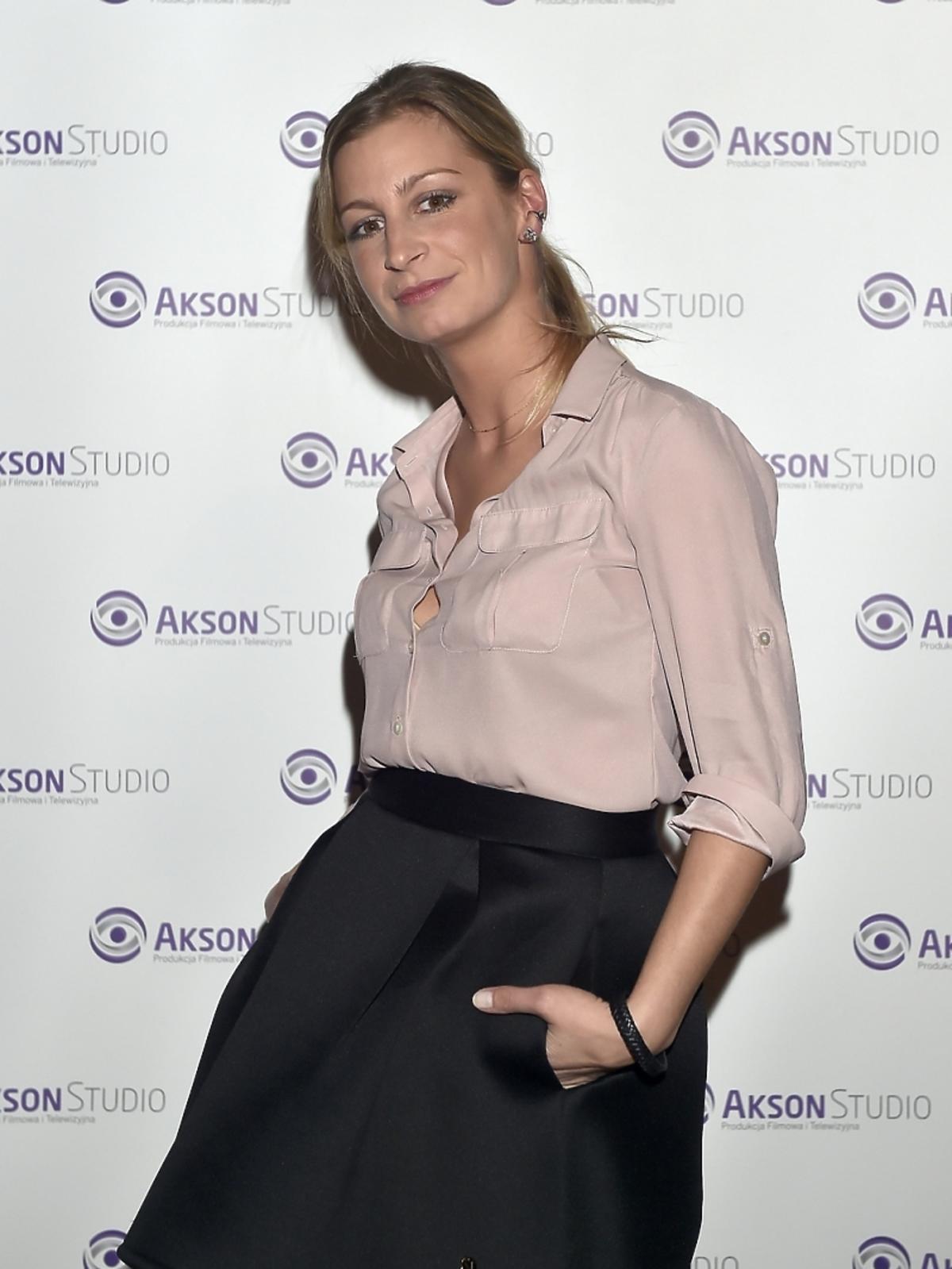 Magdalena Schejbal po zakończeniu zdjęć do serialu
