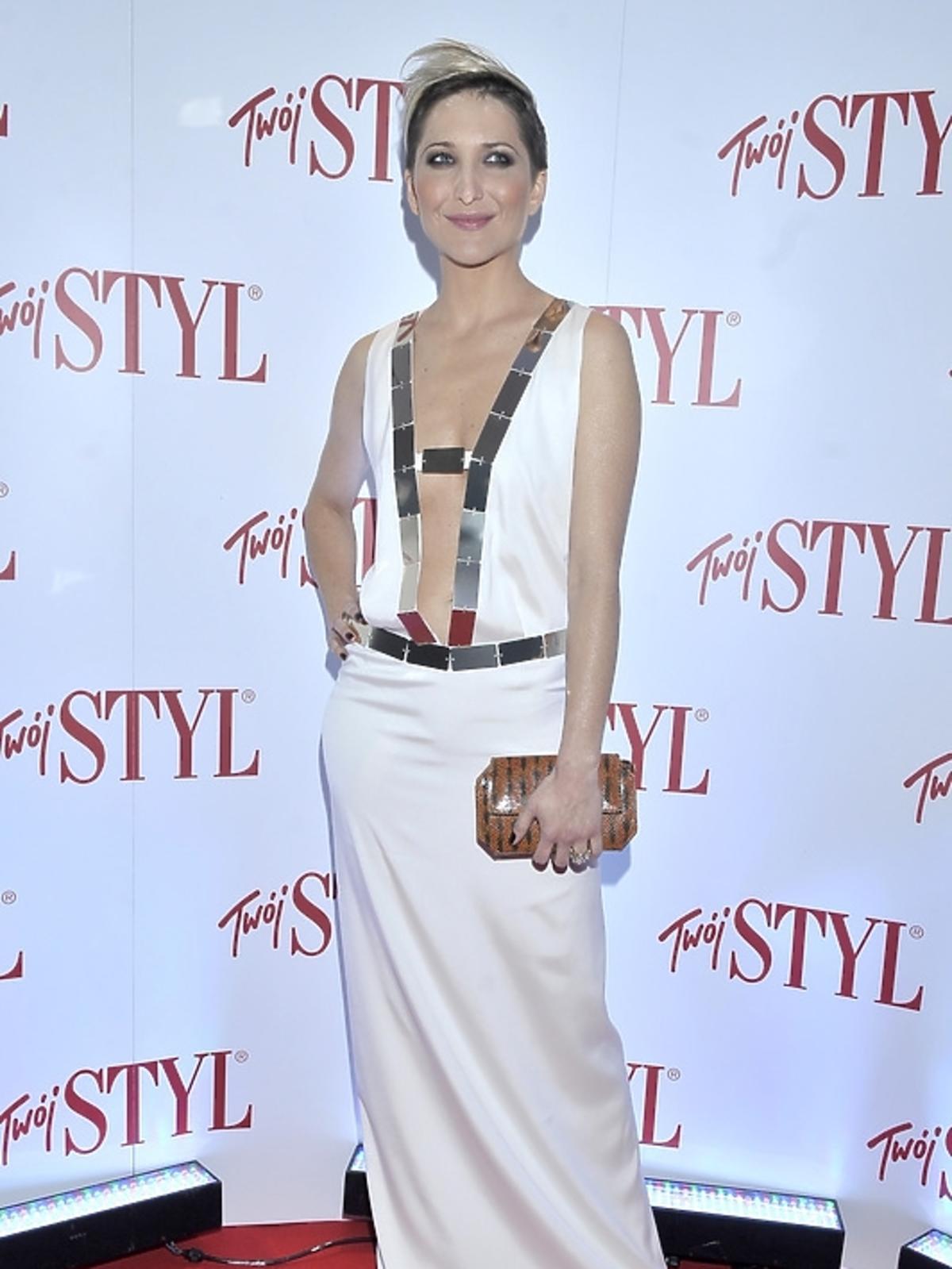 Magdalena Steczkowska na gali Doskonałość Roku Twojego Stylu 2012