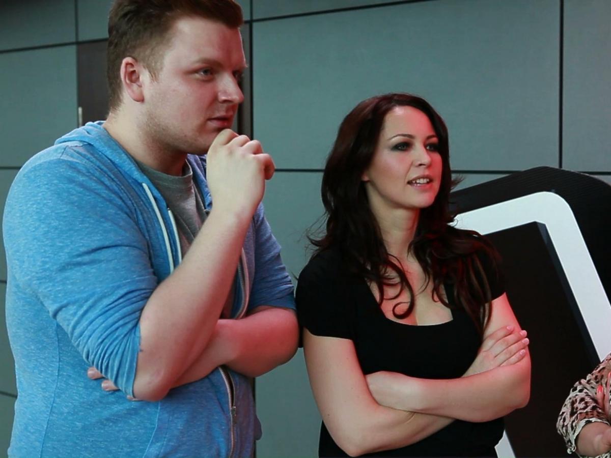 Magdalena Tul i Adrian Nychnerewicz w The Voice of Poland 2