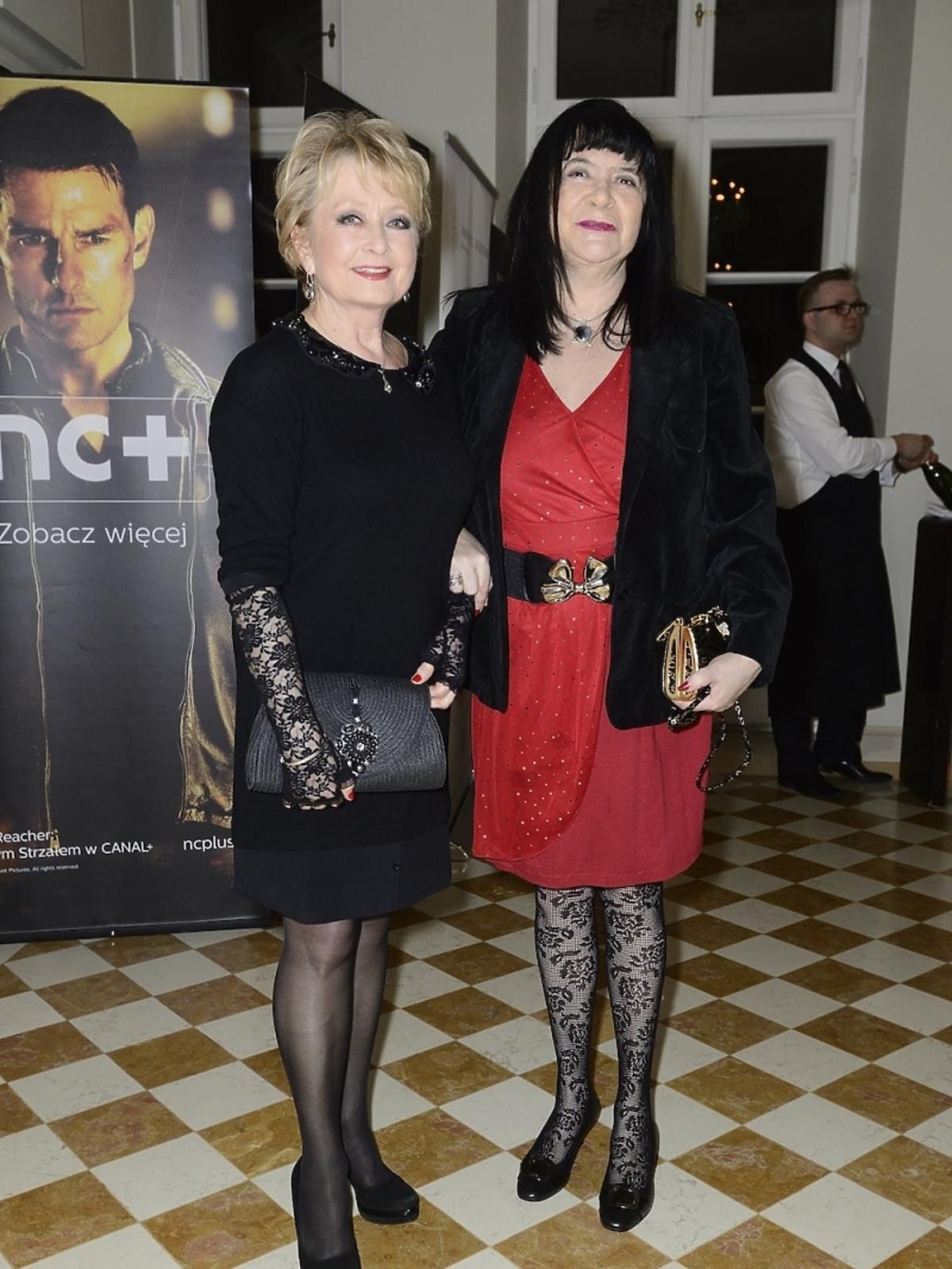 Magdalena Zawadzka i Krystyna Pytlakowska (Viva!) na Oscarach 2014