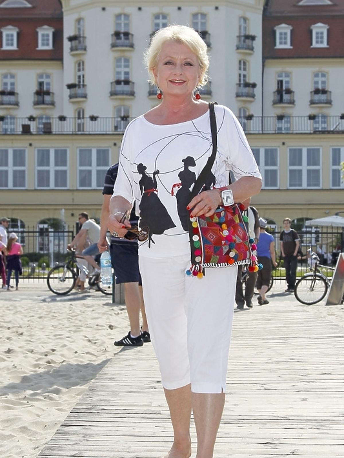 Magdalena Zawadzka w Sopocie na festiwalu Dwa Teatry