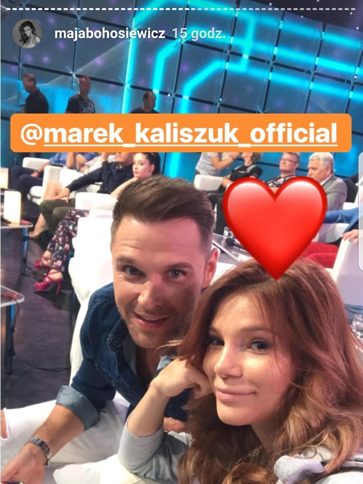 Maja Bohosiewicz i Marek Kaliszuk na Wielkim Teście TVP