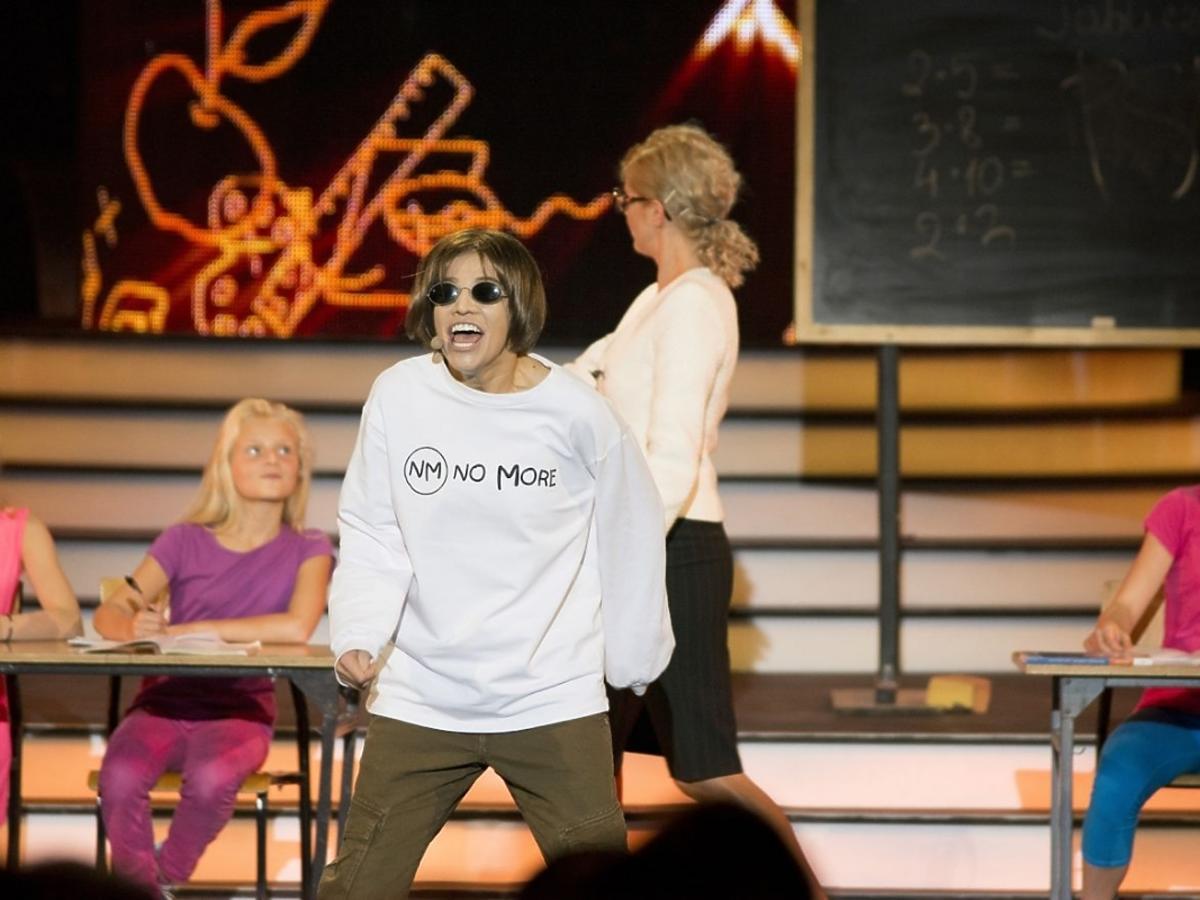 Maja Bohosiewicz jako Kuba Molęda w Twoja Twarz Brzmi Znajomo