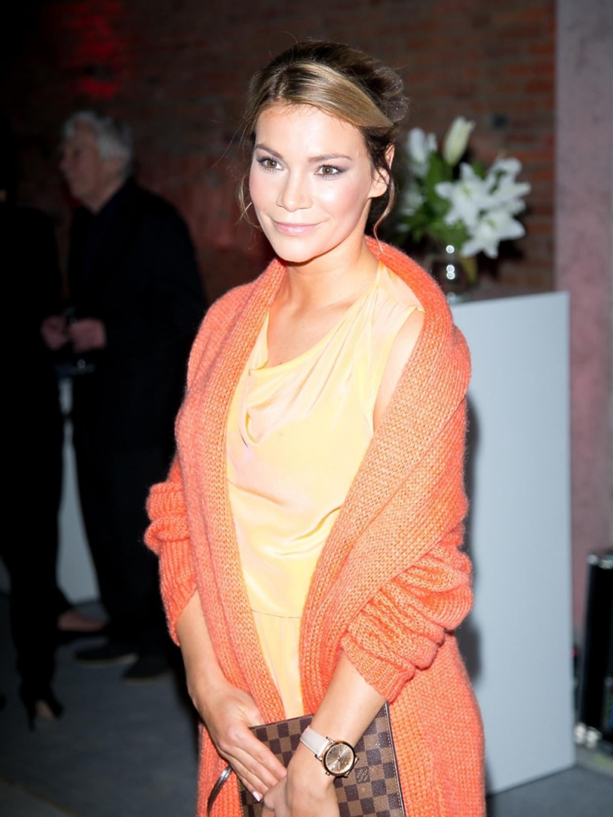 Maja Bohosiewicz na imprezie magazynu Esquire